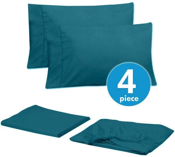 Sweet Home 6 Piece Bed Sheets Fine Microfiber Deep Pocket 1