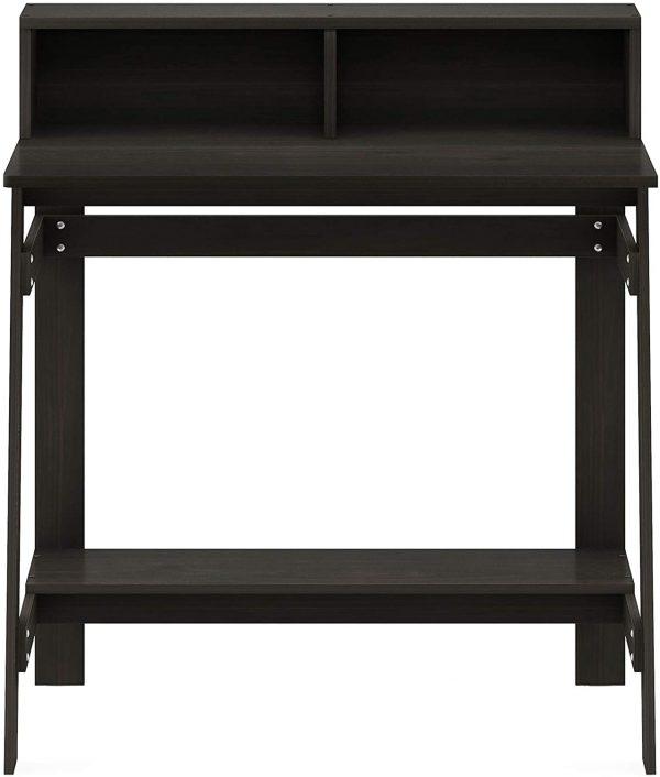 Furinno Simplistic A-Frame Computer Desk, Espresso 4