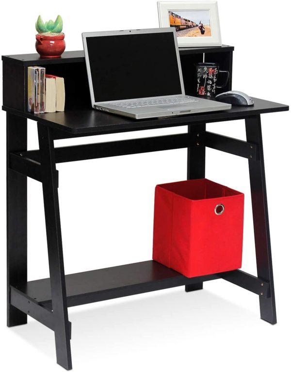 Furinno Simplistic A-Frame Computer Desk, Espresso 1