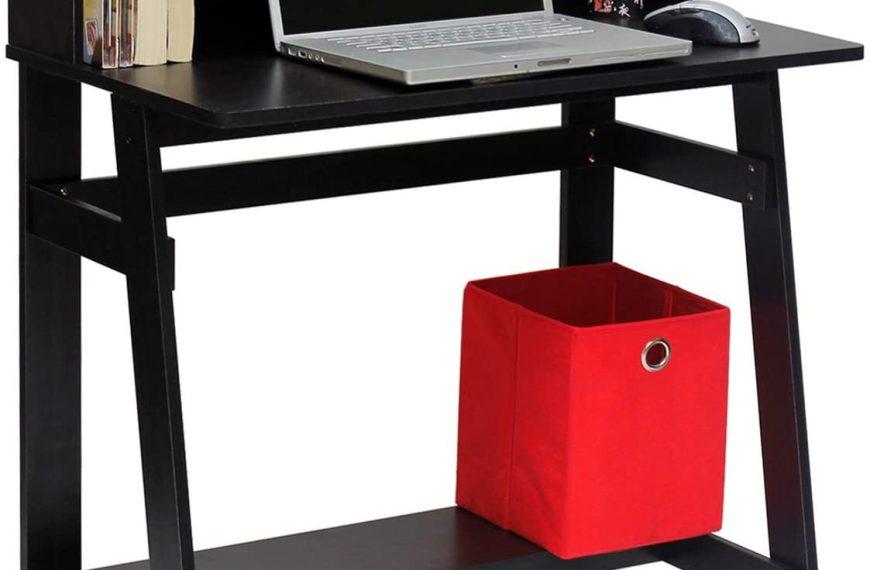 Furinno Simplistic A-Frame Computer Desk, Espresso