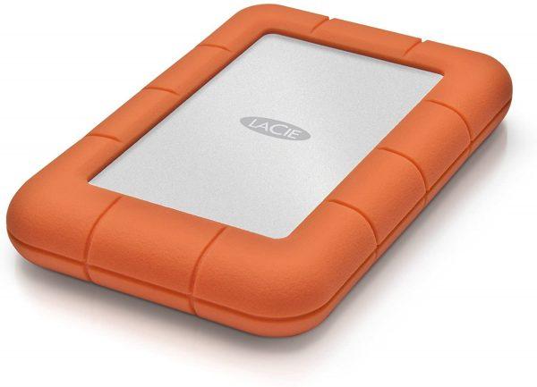 LaCie Rugged Mini 2TB External Hard Drive USB 3.0 1