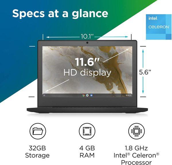 Lenovo IdeaPad 3 Chromebook 11-Inch Lap 4