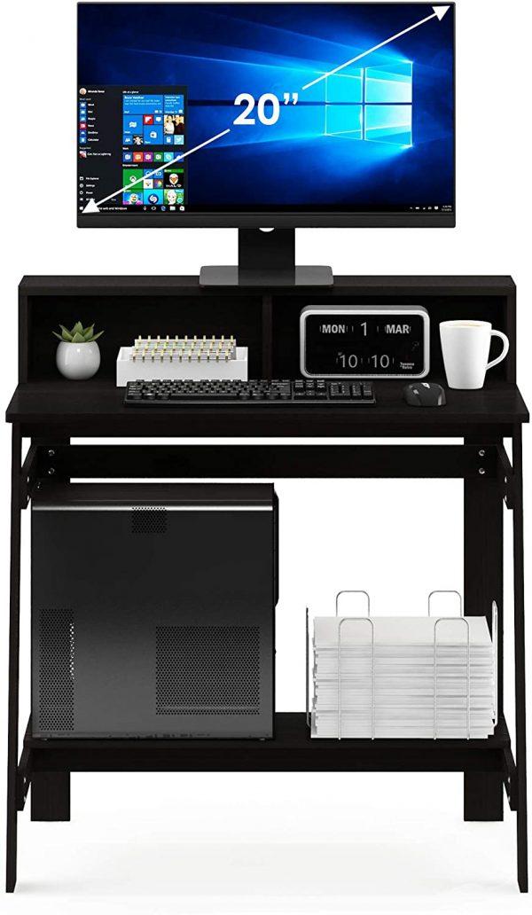 Furinno Simplistic A-Frame Computer Desk, Espresso 5