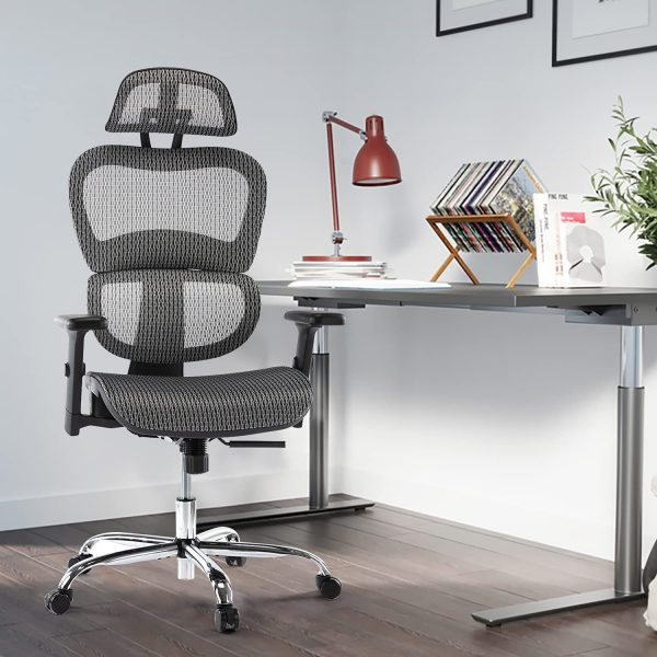 Ergonomic Executive Office Chair with Lumbar Support 1