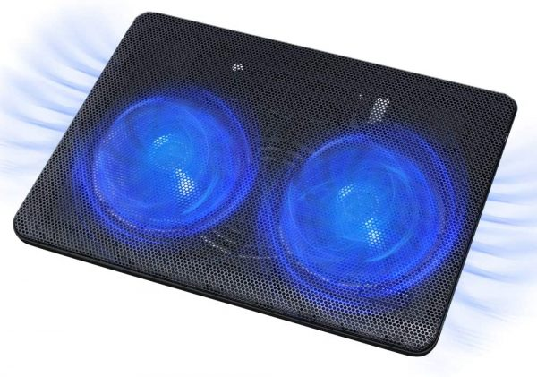 """FLAGTOP Laptop Fan Cooling Pad Compatible with 14 - 15"""" Laptop 1"""