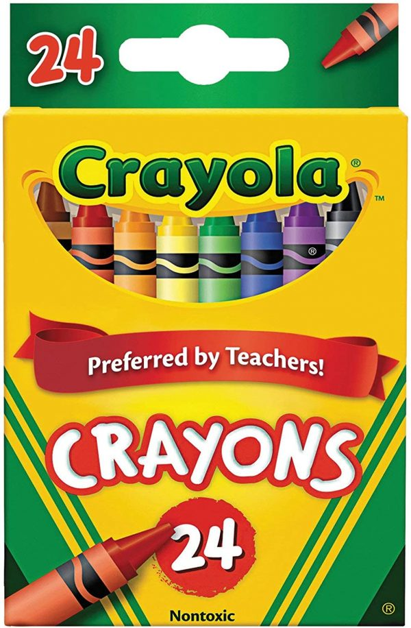 Crayola Crayons 24 Count (Pack of 2) 1