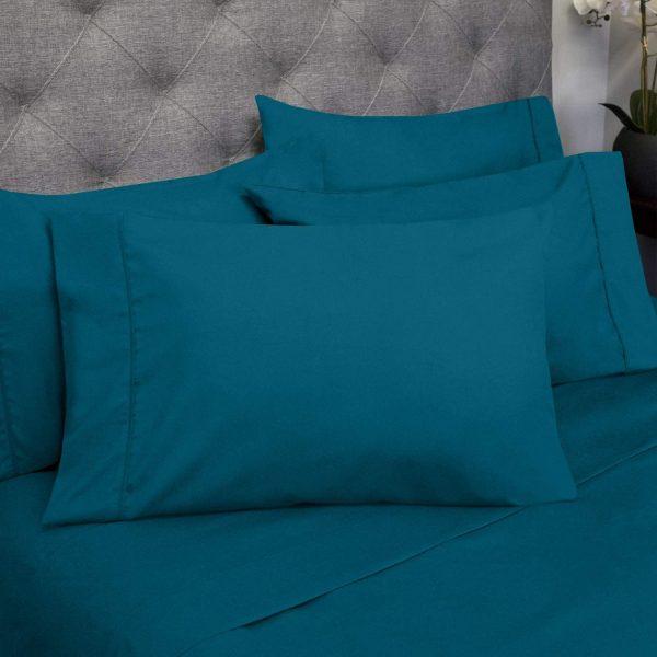 Sweet Home 6 Piece Bed Sheets Fine Microfiber Deep Pocket 3