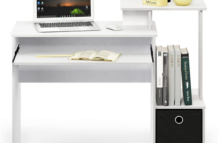 FURINNO Computer Writing Desk for Home and Office