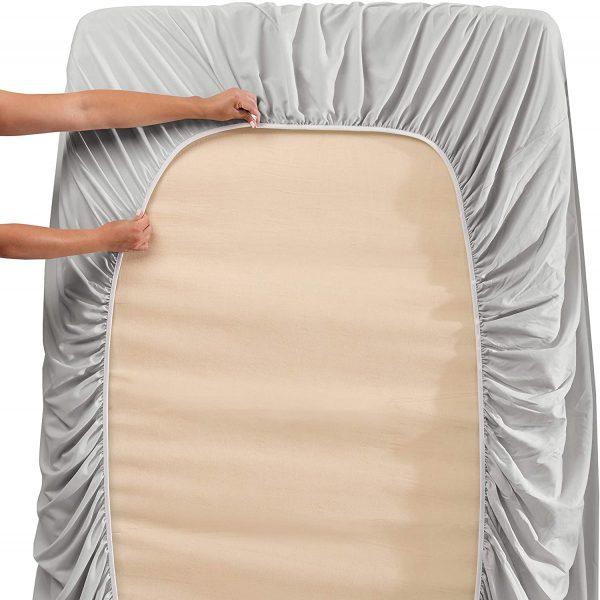 Clara Clark Bed Sheets 4 Piece Bed Set, Premier 1800 Series 4