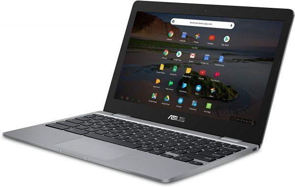 "ASUS Chromebook C223 Laptop 11.6"" Intel N3350 Processor 1"
