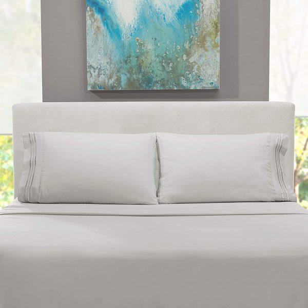 Clara Clark Bed Sheets 4 Piece Bed Set, Premier 1800 Series 2