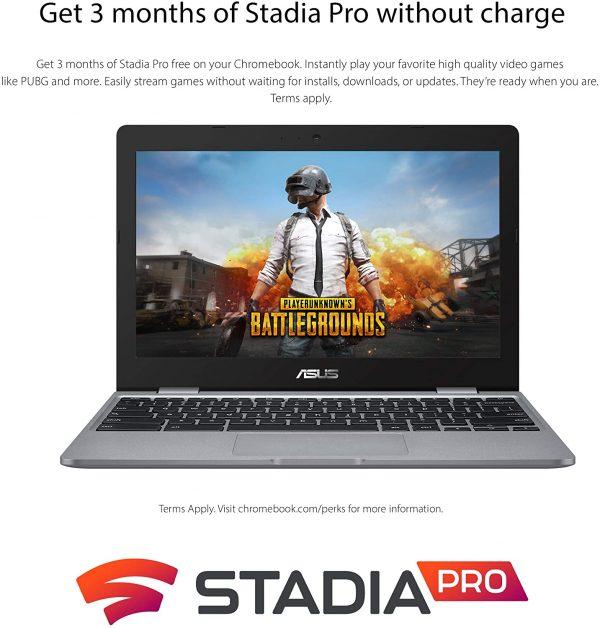 "ASUS Chromebook C223 Laptop 11.6"" Intel N3350 Processor 4"