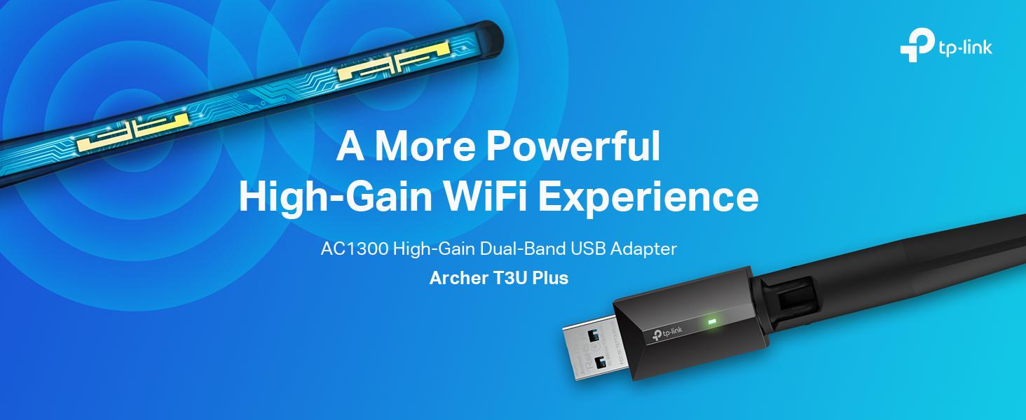 TP-Link USB WiFi Adapter for Desktop PC