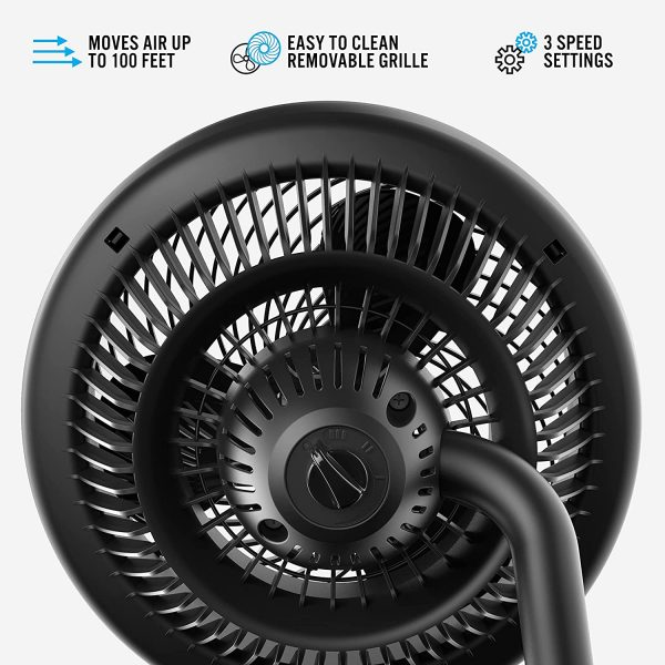 Vornado Room Air Circulator Fan with Adjustable Height 783 Full-Size 2