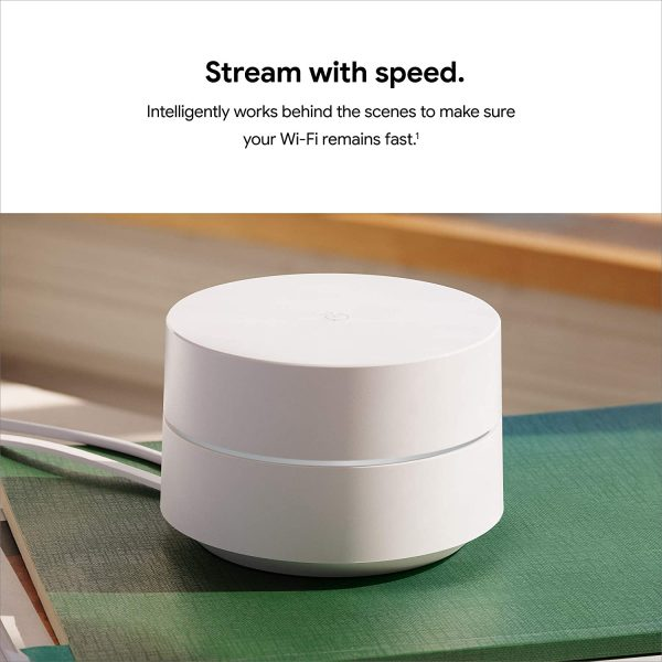 Google Wifi Mesh WiFi System Wifi Router Coverage 4500 Sq Ft 4