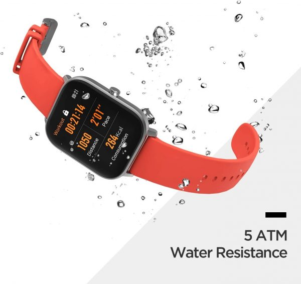 Amazfit GTS Fitness Smartwatch with Heart Rate Monitor 4