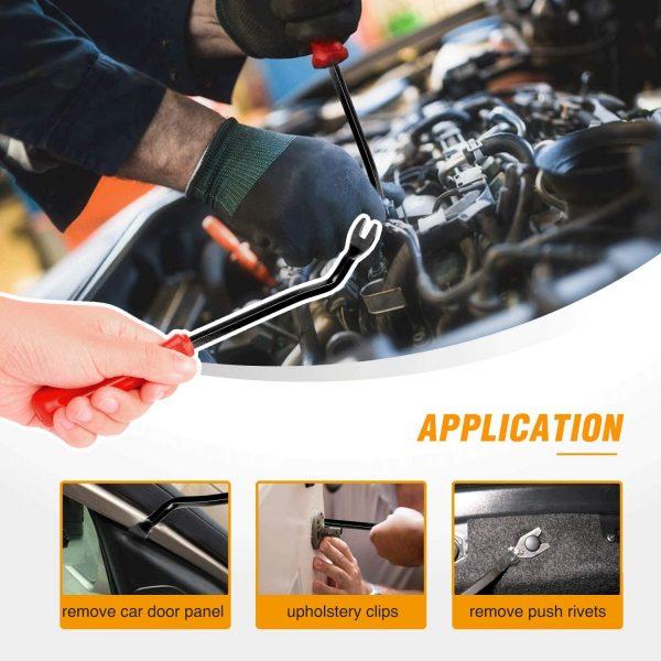 GOOACC 635Pcs Car Push Retainer Clips Auto Fasteners Assortment 7