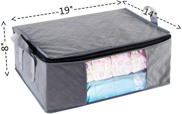 ABO Gear Clothes Storage Containers, 3pc Pack 3