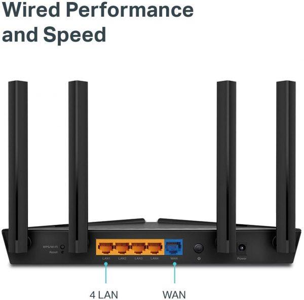 TP-Link Wifi 6 Smart WiFi Router Archer AX104 Gigabit LAN Ports 6