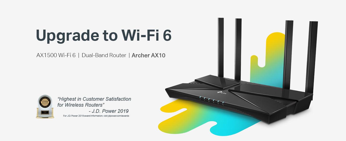 TP-Link Wifi 6 Smart WiFi Router