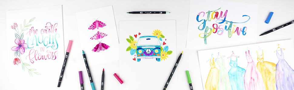 Tombow Dual Brush Pen Art Markers