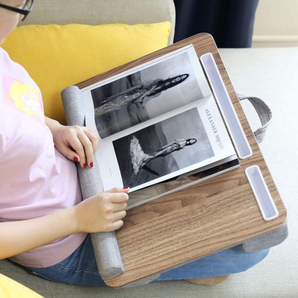 HUANUO Multifunctional Lap Desk for Laptop or Writing 4