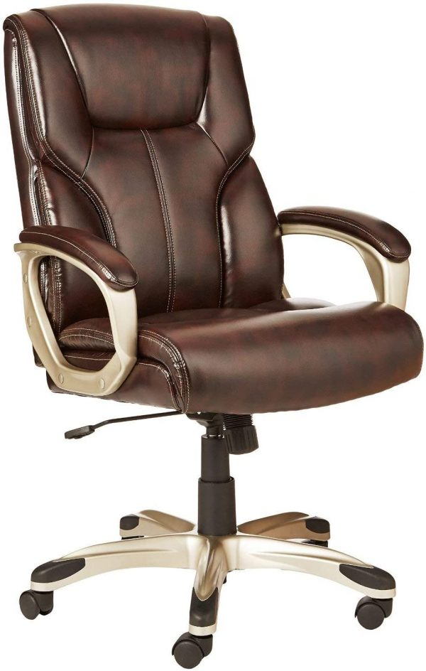 Executive Office Desk Chair with Armrests 1