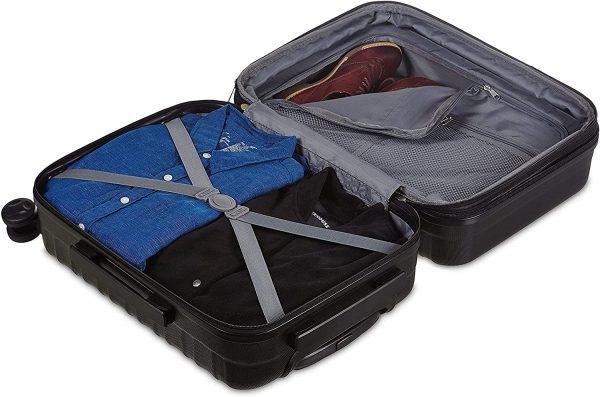Spinner Luggage Hardside Suitcase 21-inch 4