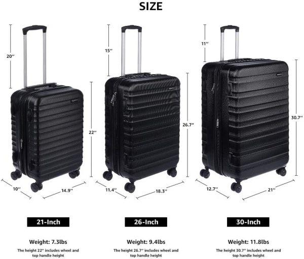 Spinner Luggage Hardside Suitcase 21-inch 5