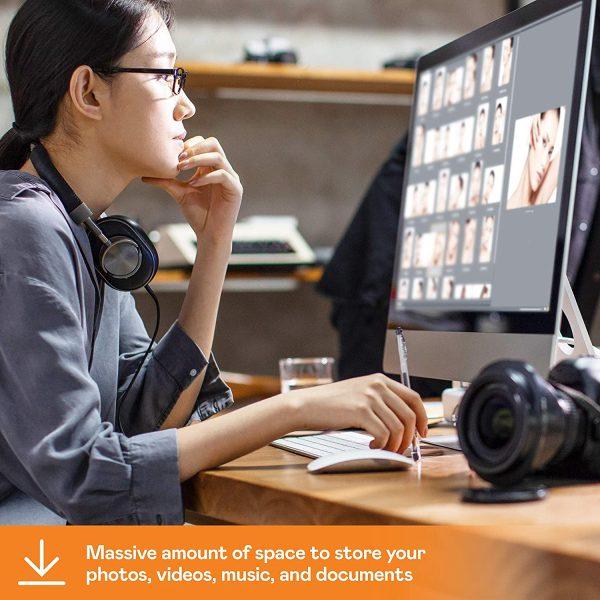 WD 18TB My Book Desktop External Hard Drive 5