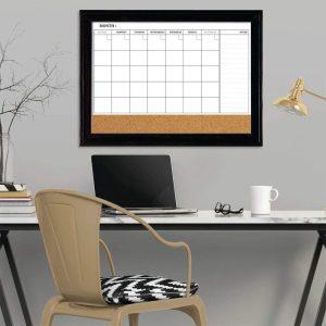Magnetic Whiteboard Calendar